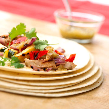 Turkey Fajitas With Peppers And Onions