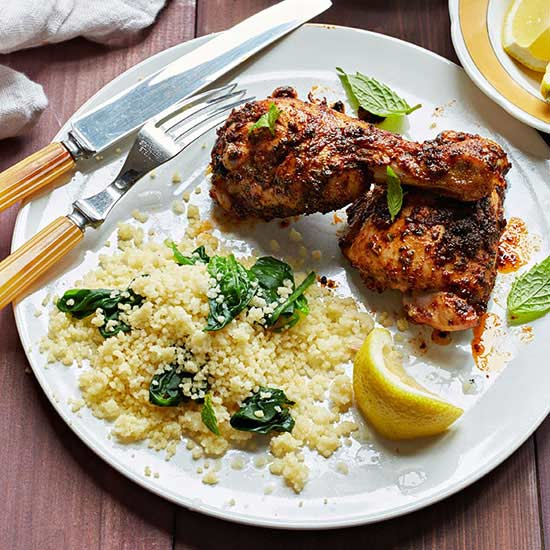 Mint-and-Cumin-Spiced Chicken