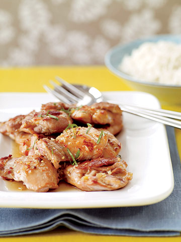 Ginger-Glazed Chicken