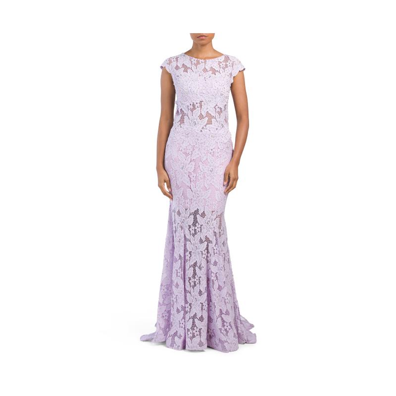 TJ Maxx lavender prom gown