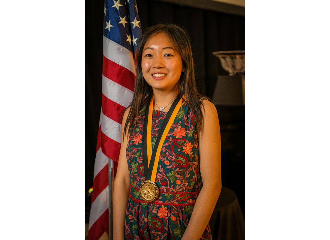 Michelle Qin of California