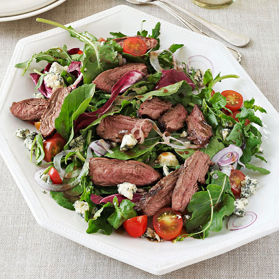 Steak Salad with Maple Balsamic