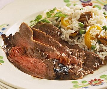 Orange-Marinated Flank Steak