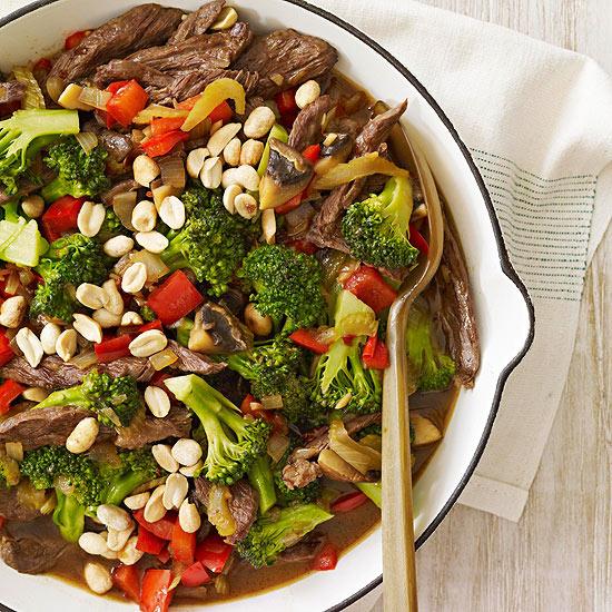 Kung Pao Steak & Vegetables