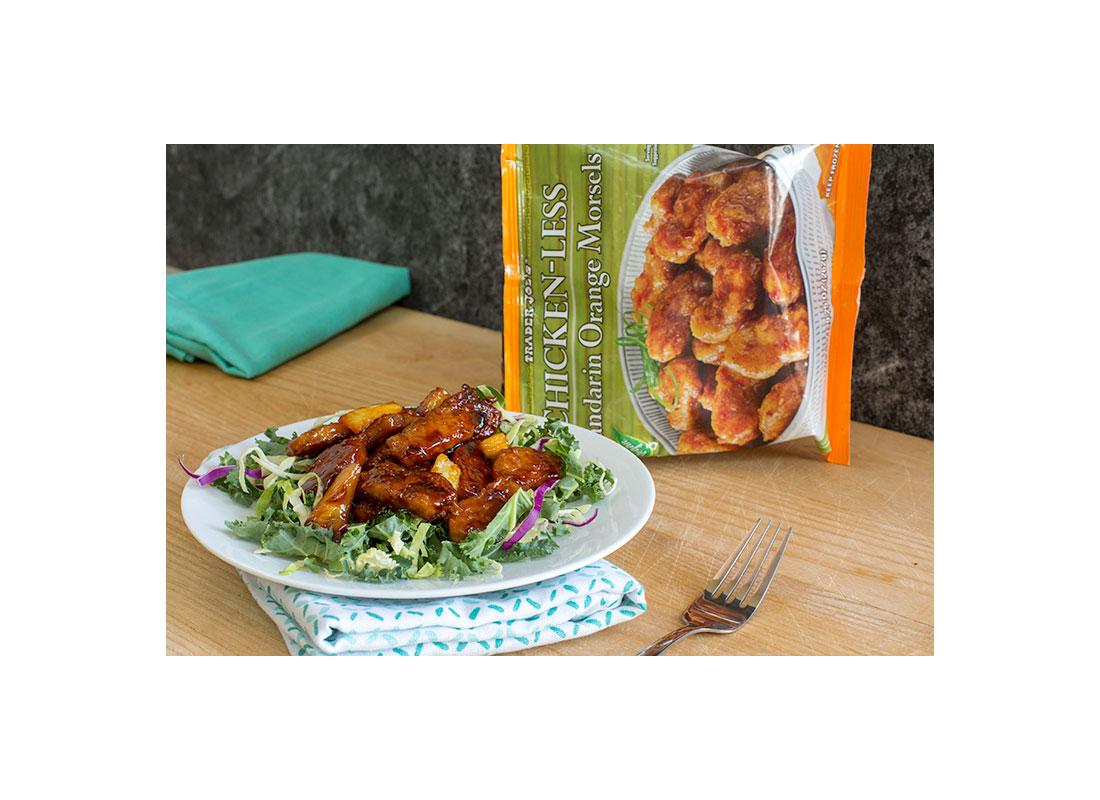Chicken-Less Mandarin Orange Morsels