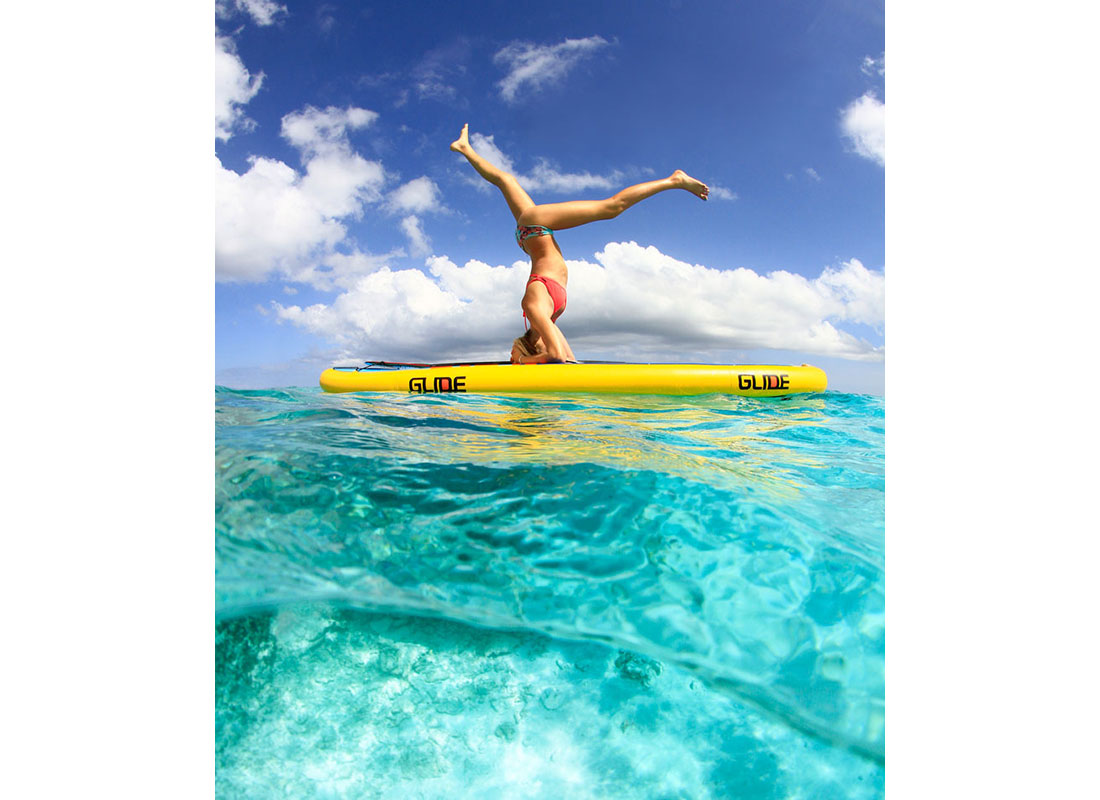 outdoor fitness sup yoga