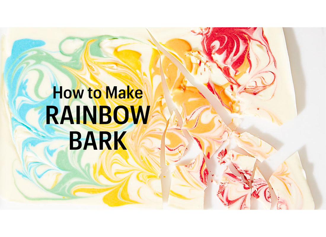 How to Make This Easy & Beautiful Rainbow Bark