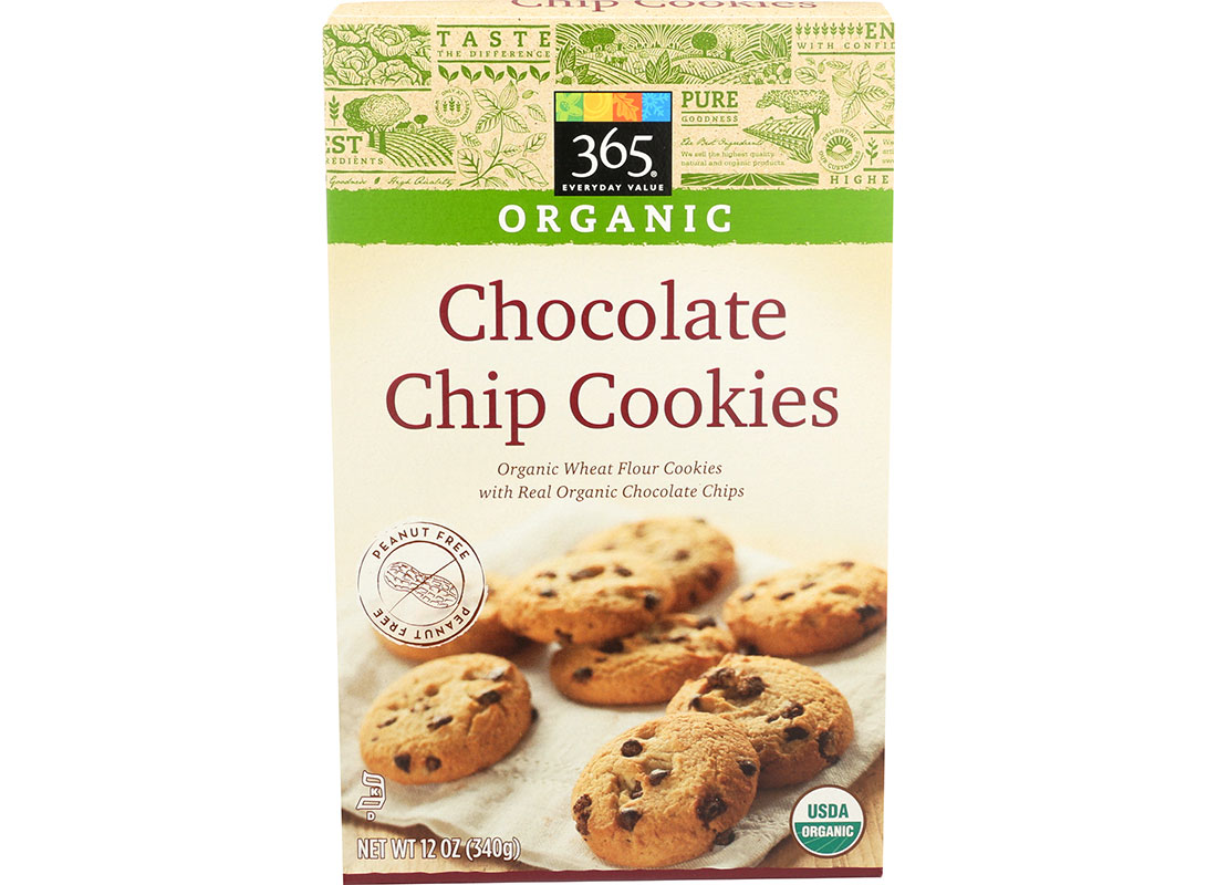 Whole Foods 365 Organic Chocolate Chip Cookies