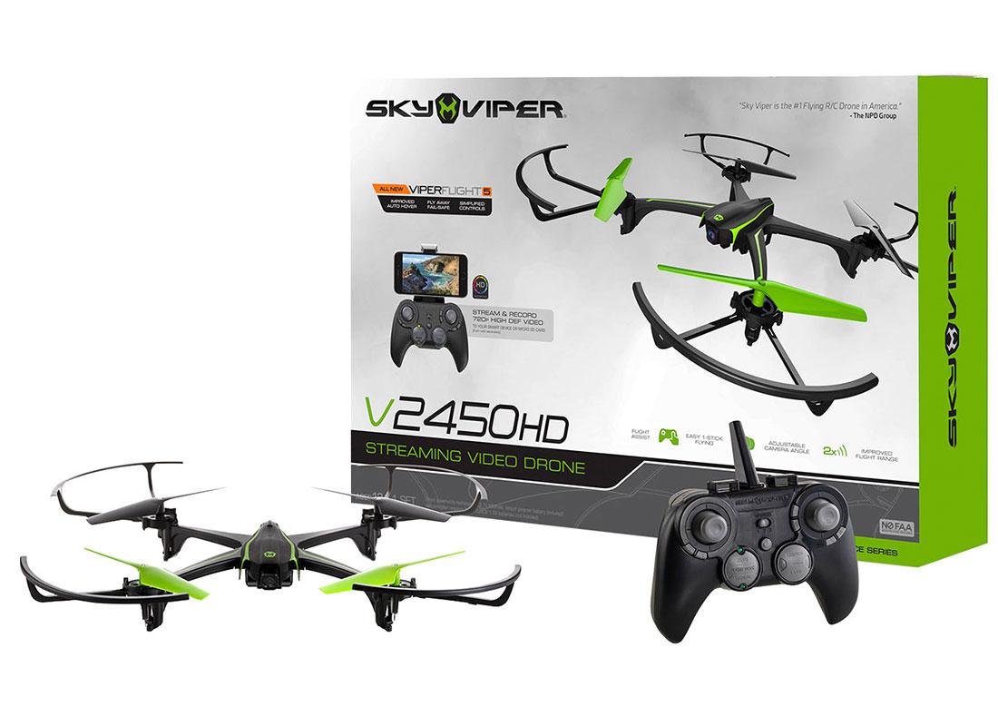 Sky Viper Streaming Video Drone V2450HD (Skyrocket Toys)