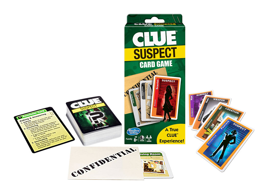 Clue Suspect Card Game  (Winning Moves Games)