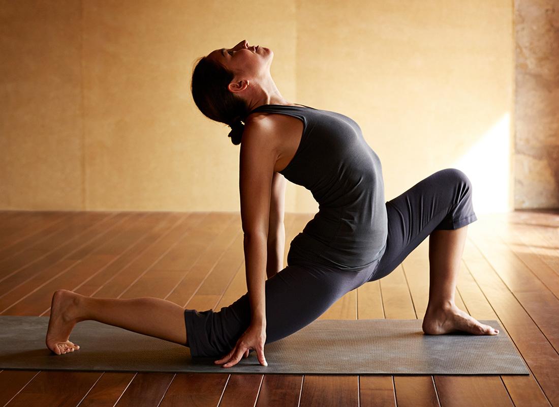 recharge with yoga