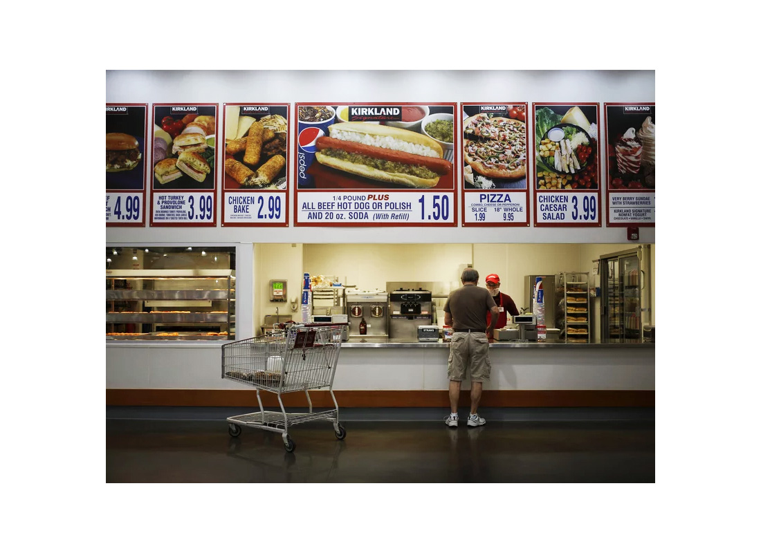 costco menu