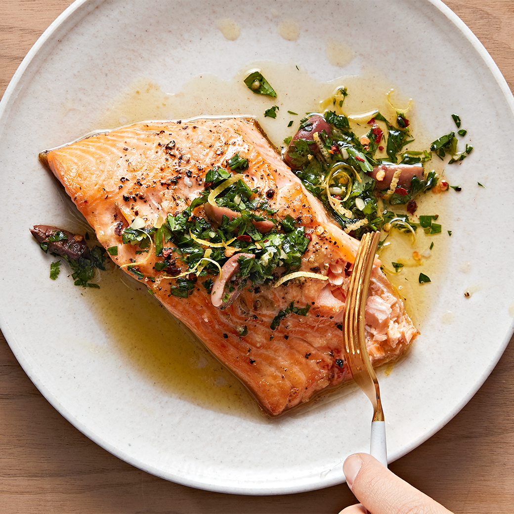 Arctic Char with Chermoula
