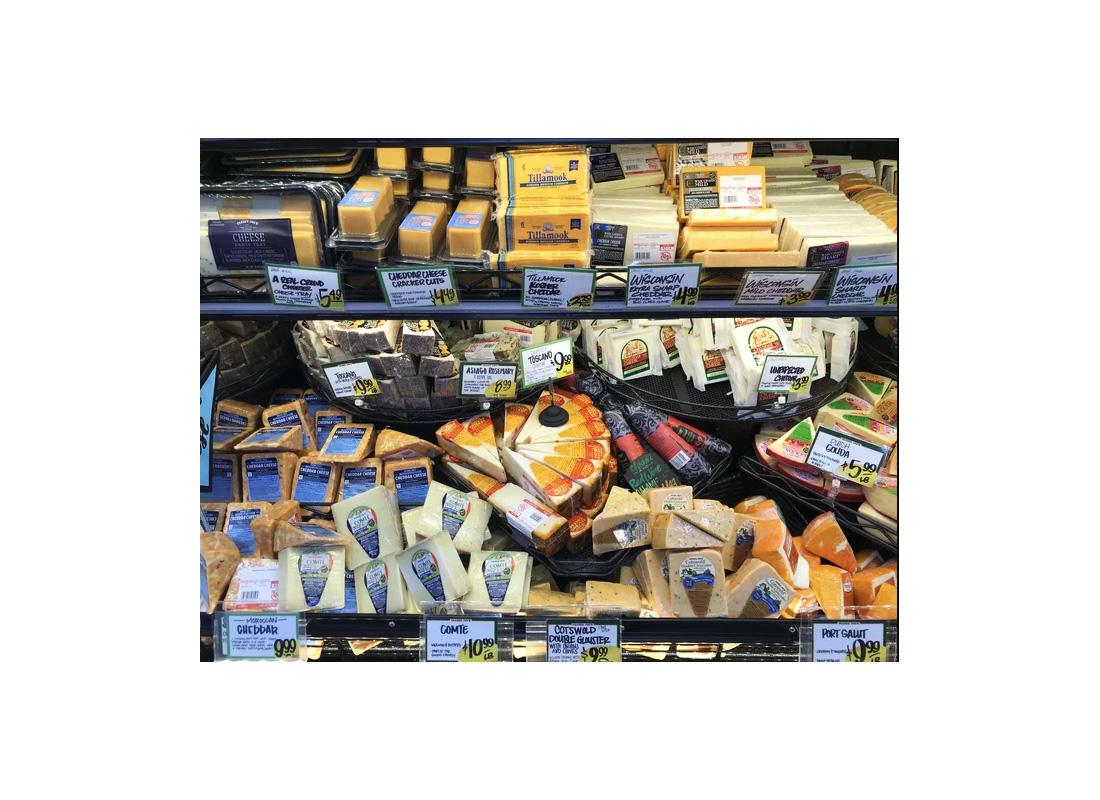 Trader Joe's Cheeses