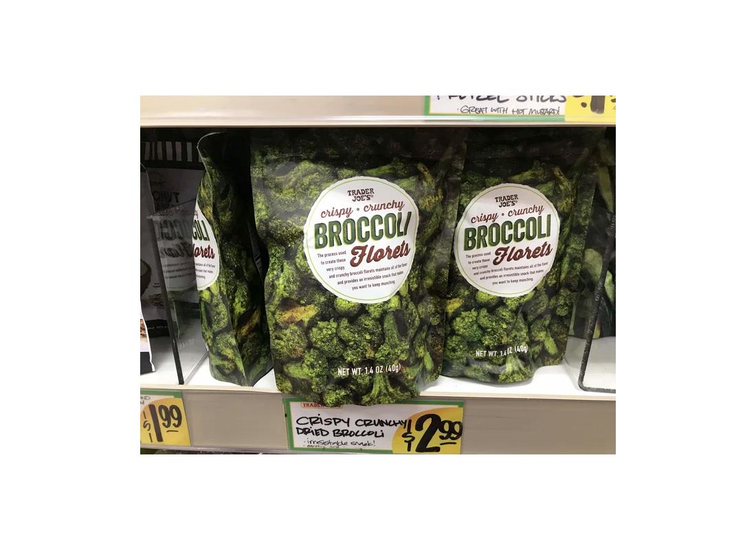 Trader Joe's Crispy Broccoli Florets