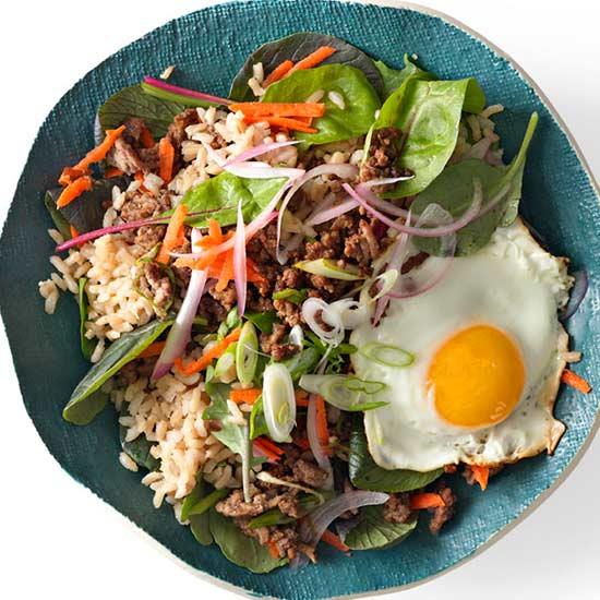 Bibimbap Salad Bowl