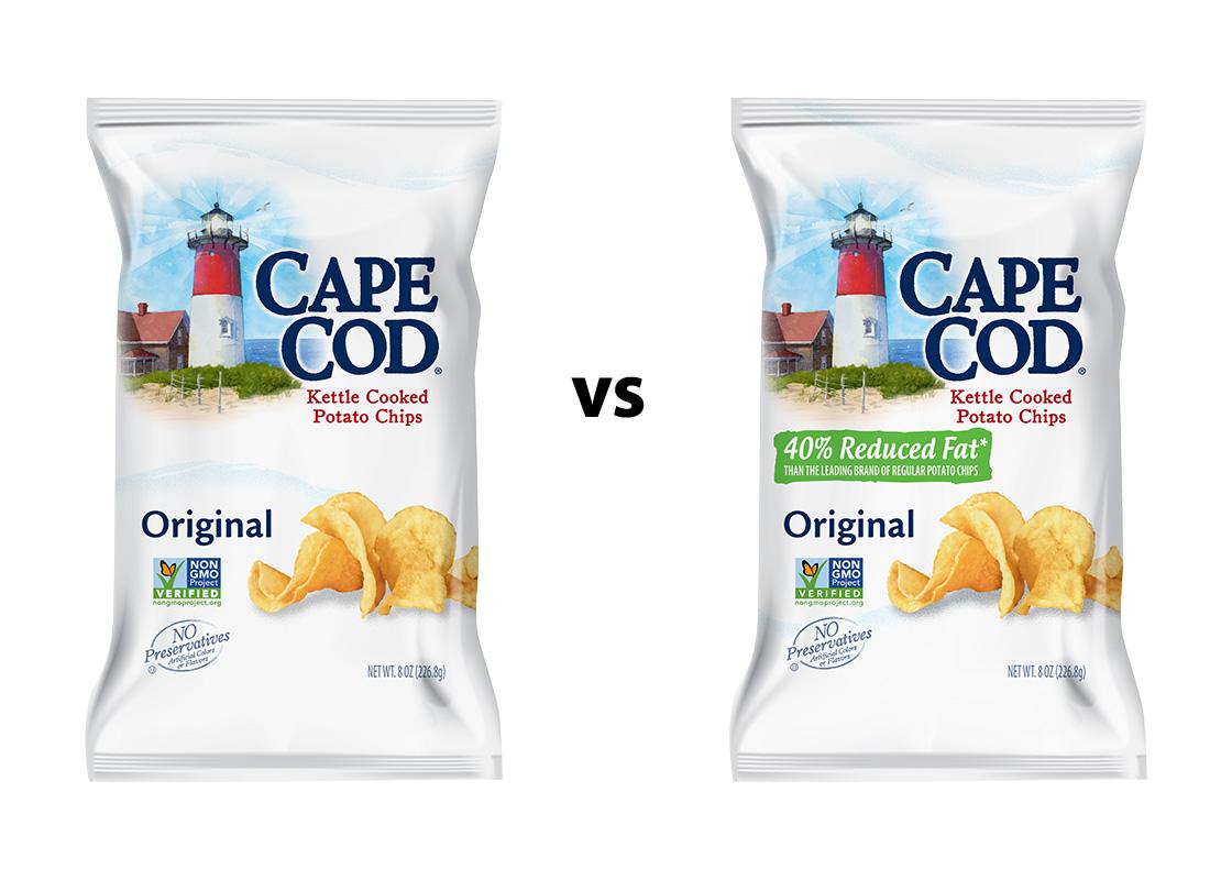 Cape Cod Original & 40% Reduced Fat