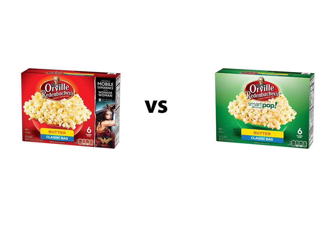 Orville Redenbacher's Gourmet Popping Corn Butter Original v. 94% Reduced Fat