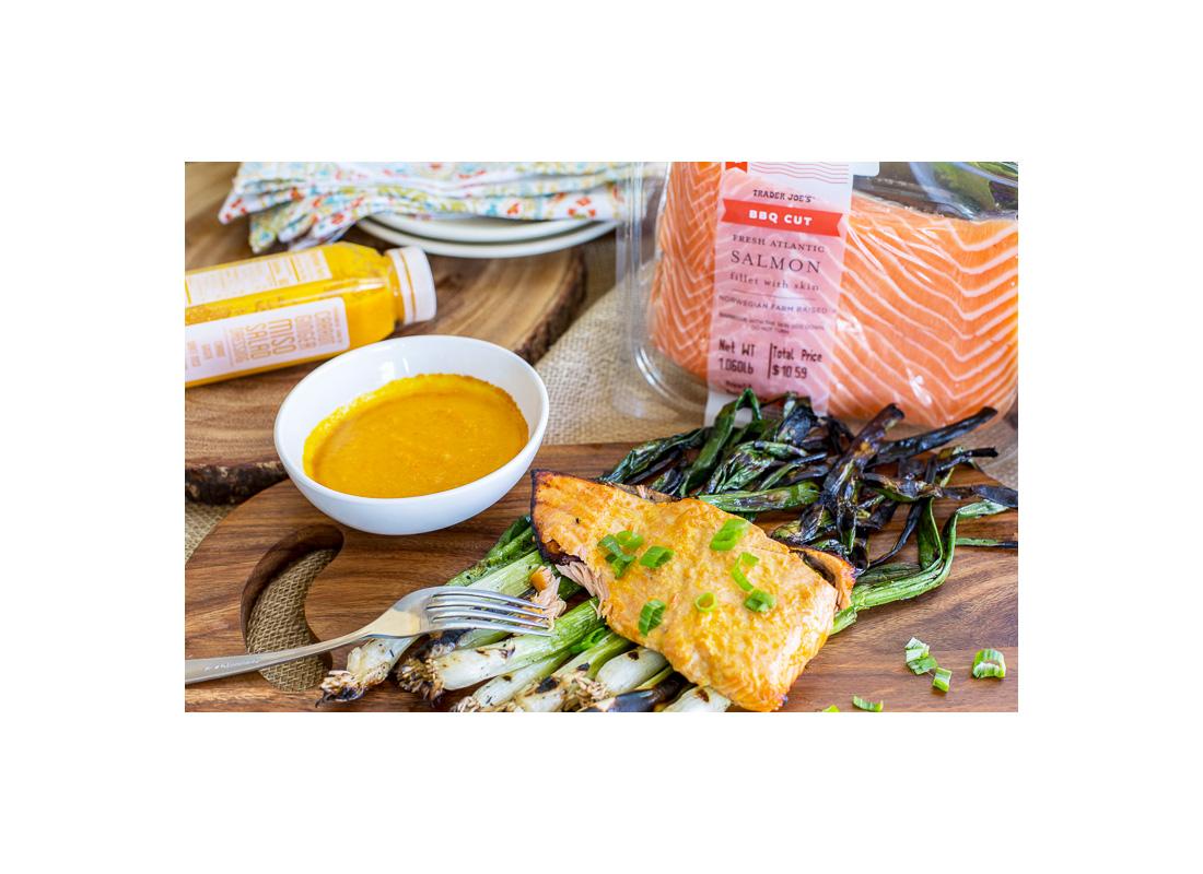 Trader Joe's BBQ Cut Fresh Atlantic Salmon Fillets