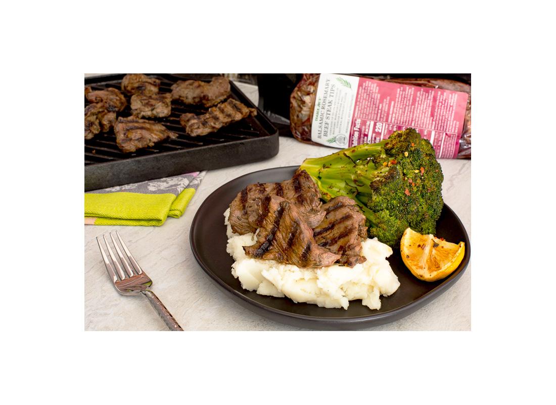 Trader Joe's Rosemary Balsamic Steak Tips