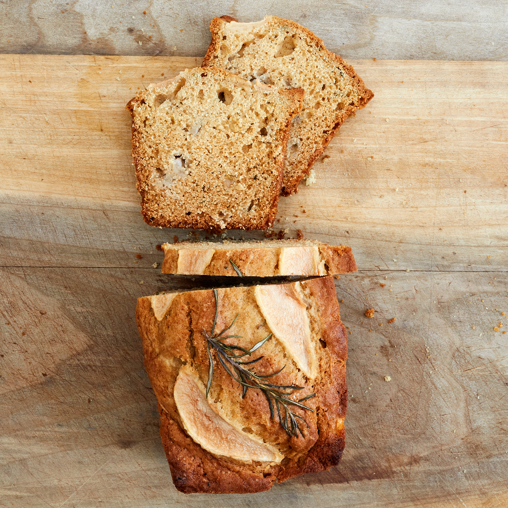 Pear-Rosemary Bread