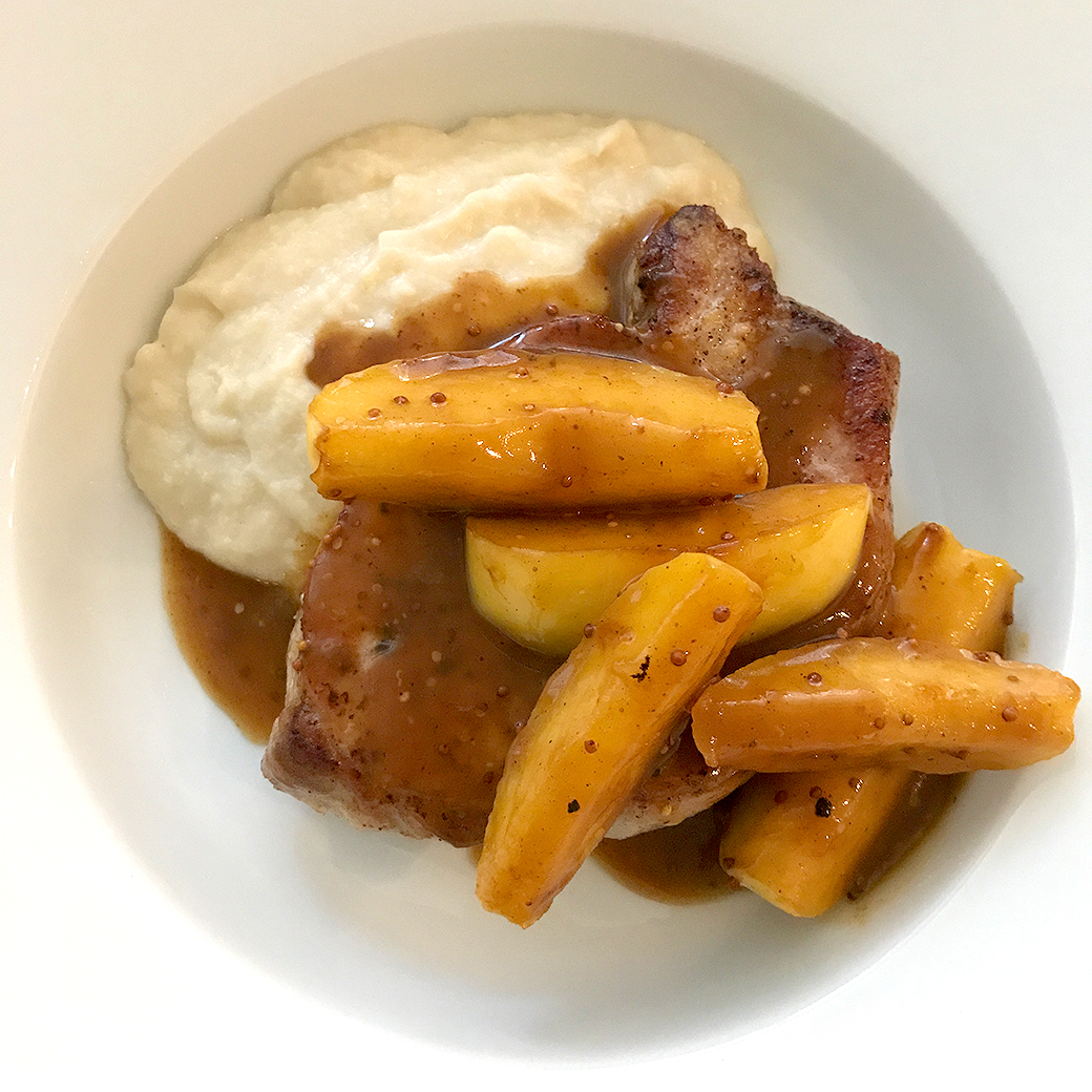 Sauteed Pork and Apples