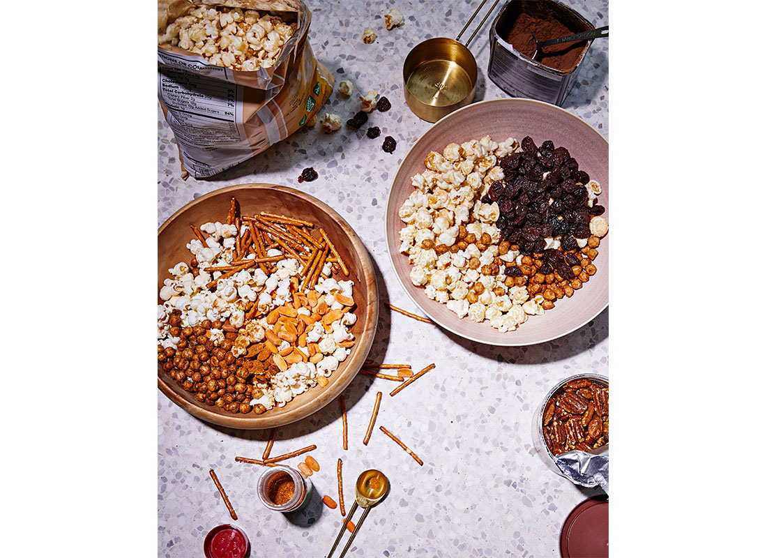 Popcorn Snack Mixes