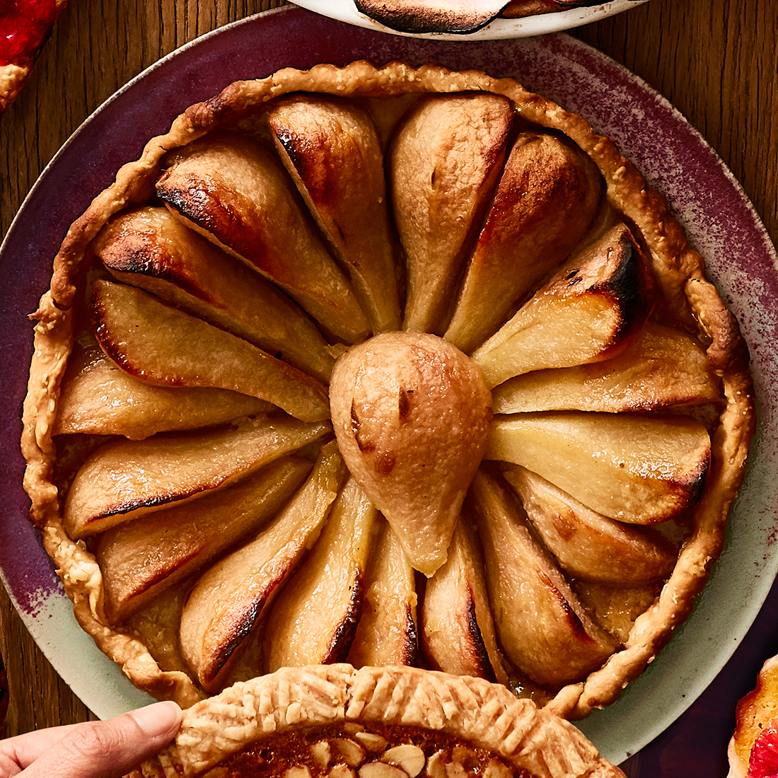 Caramelized Pear Tart