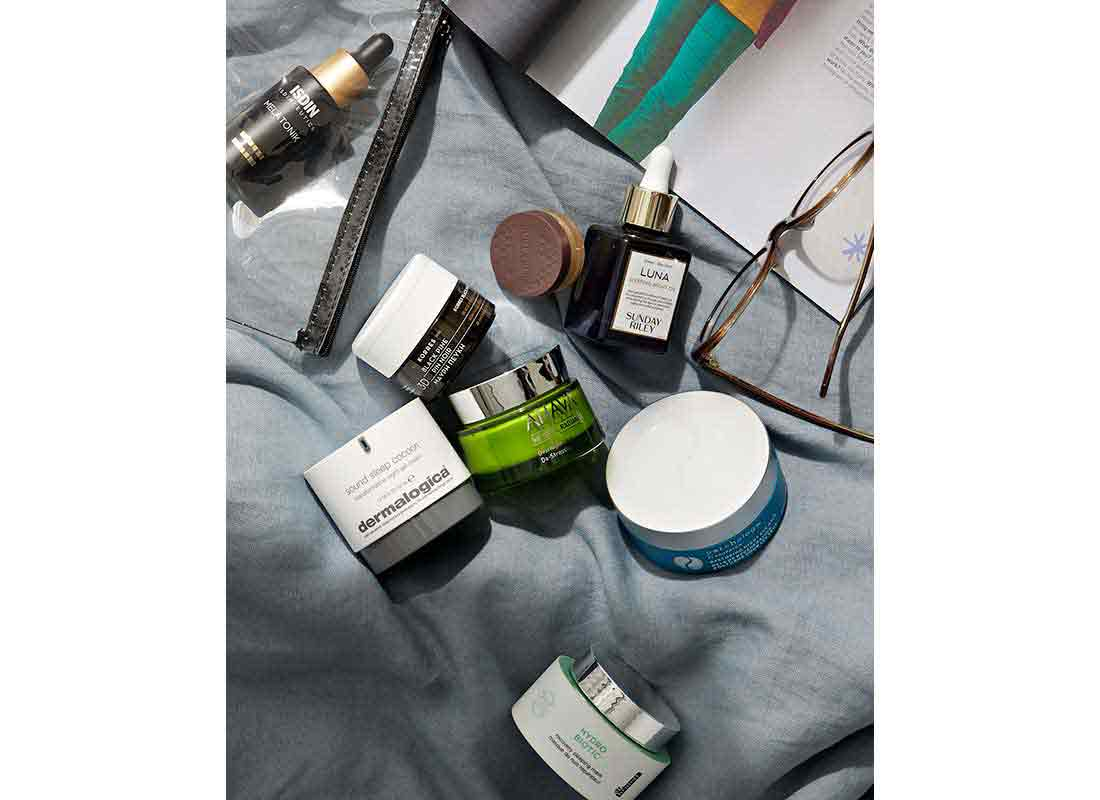 Self-Care with Bedtime Beauty Products