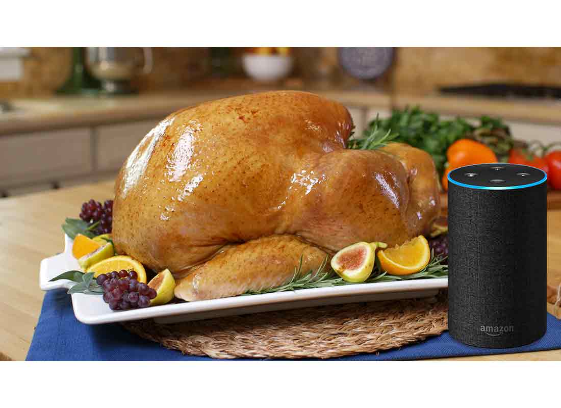 butterball turkey and alexa