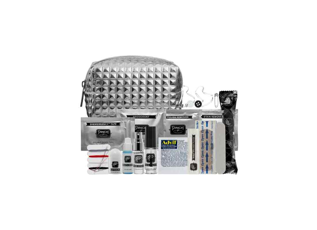 Pinch Provisions Minimergency Kit For Her - Metallic Silver