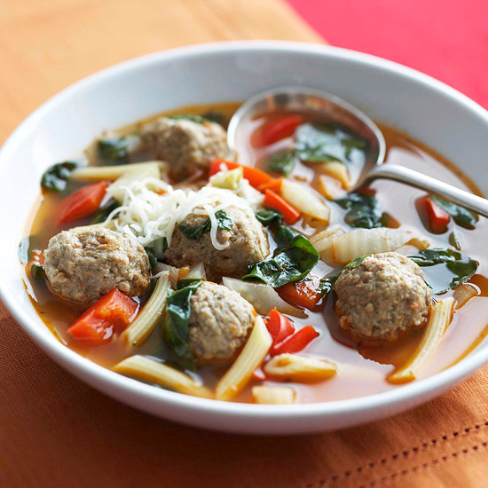20 minute Italian Wedding Soup