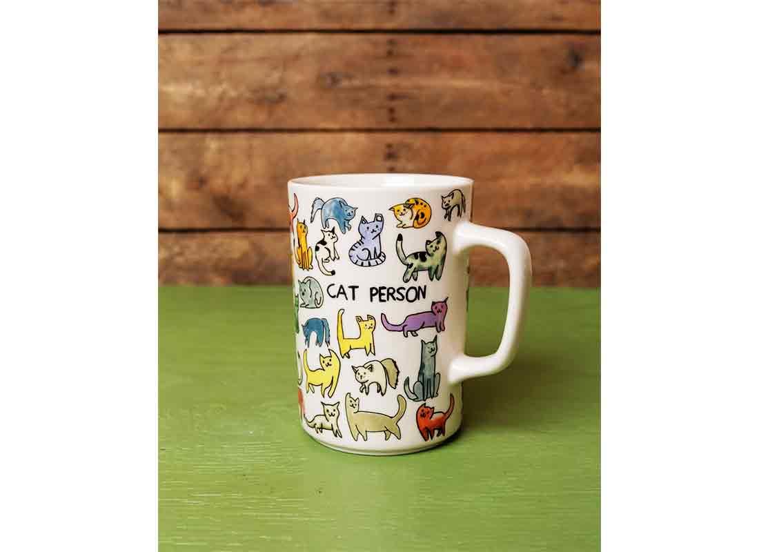 Cat Person Mug