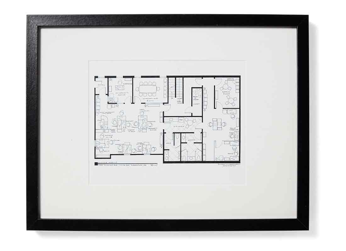 Dunder Mifflin Floorplan