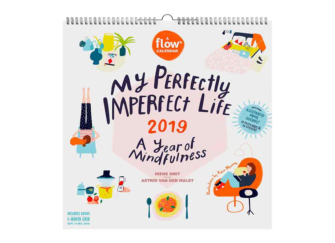 My Imperfect Life: A Year of Mindfulness, a Flow Calendar