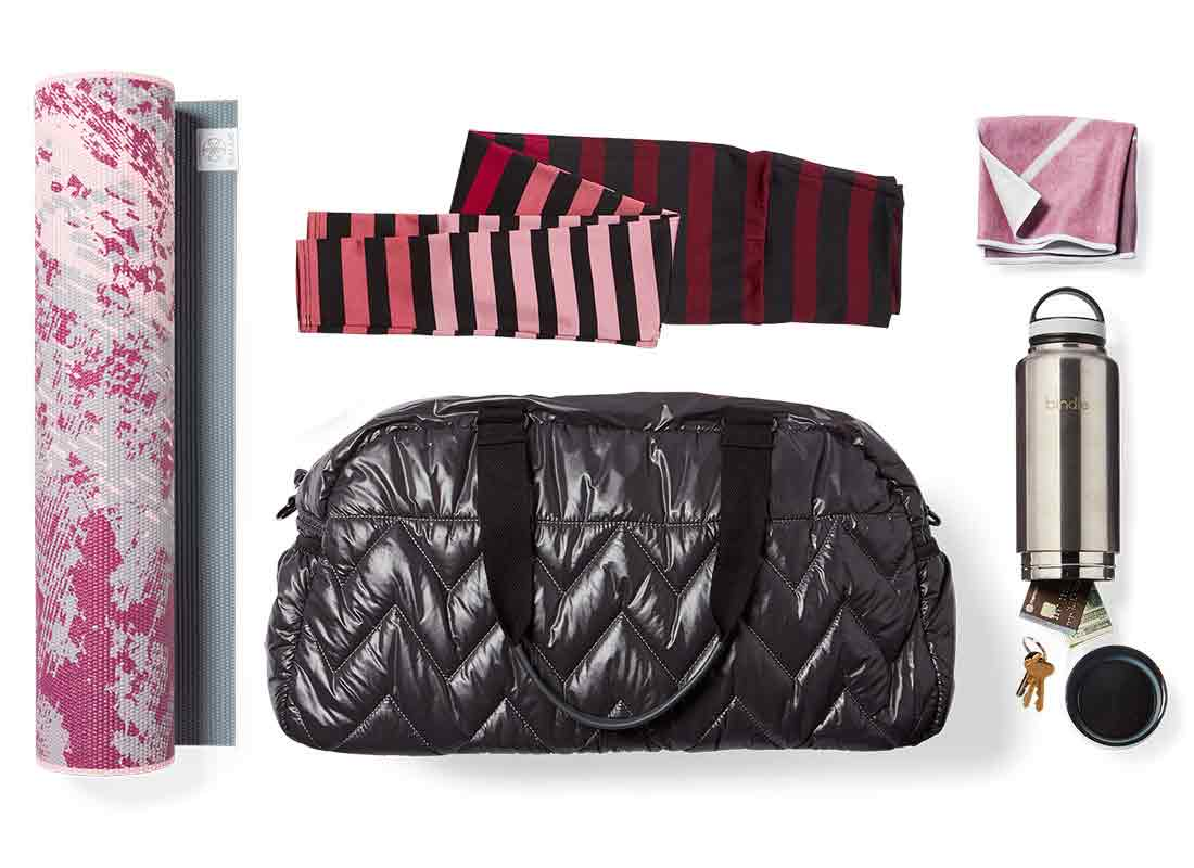 gym bag and accessory gift ideas