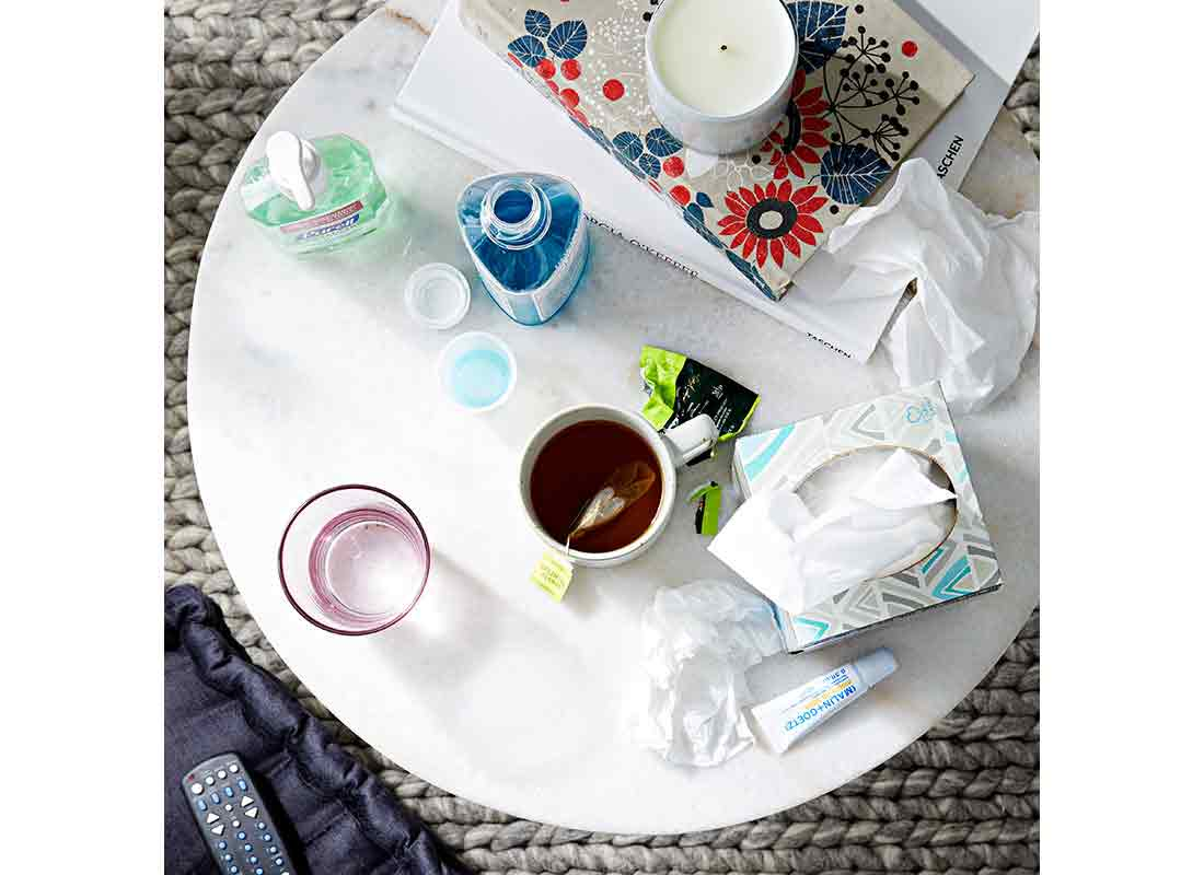 items to help with cold and flu