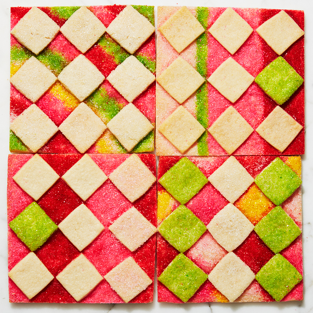 Almond Checkerboards