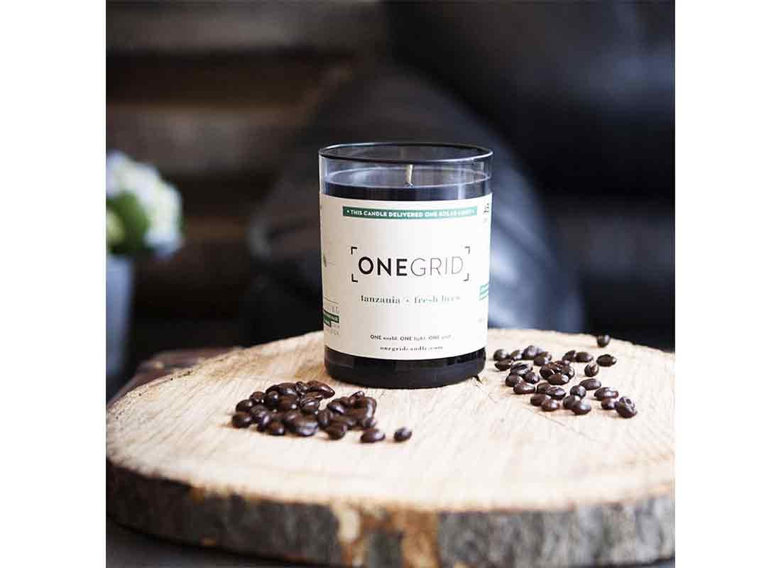 OneGridCandle Fresh Brew