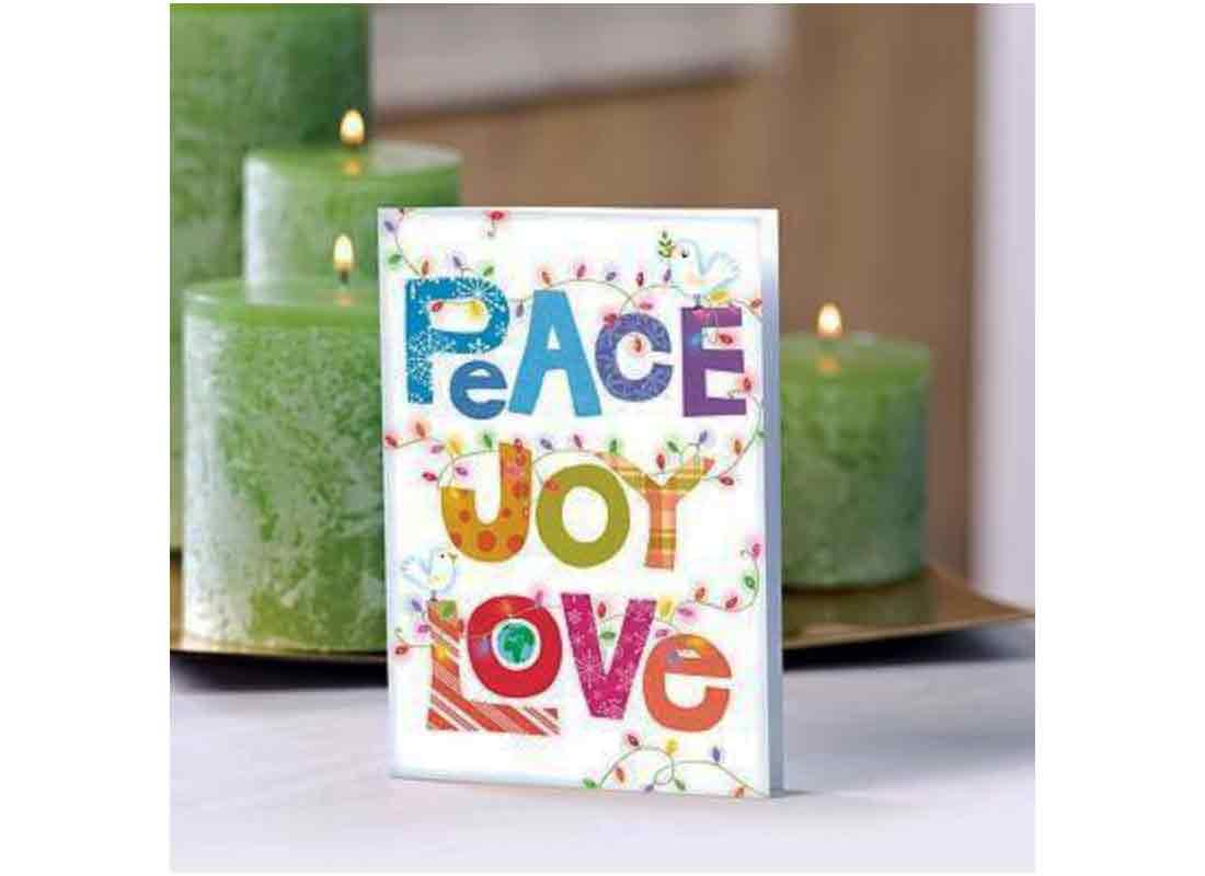 UNICEF Holiday Cards Boxed Set - Peace Joy Love