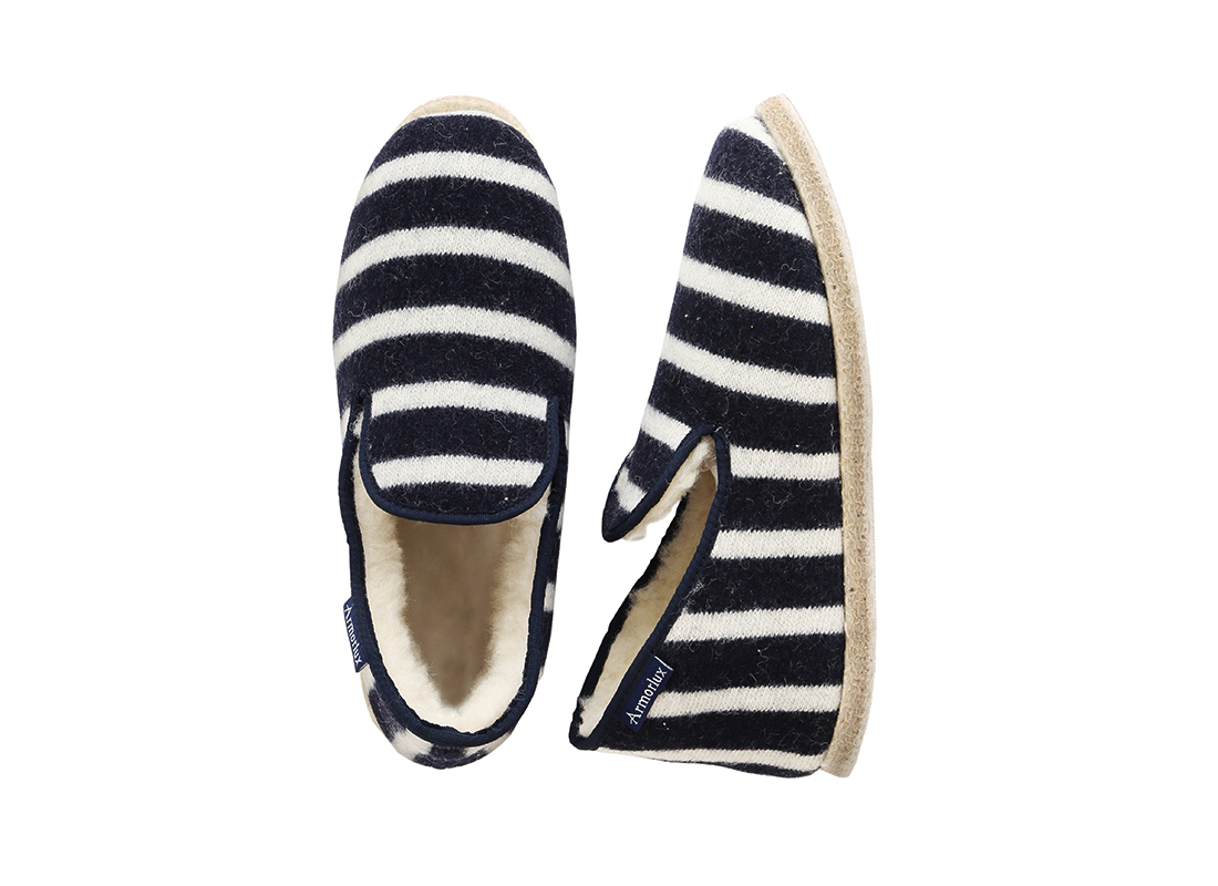 Armor Lux Wool Unisex Slippers