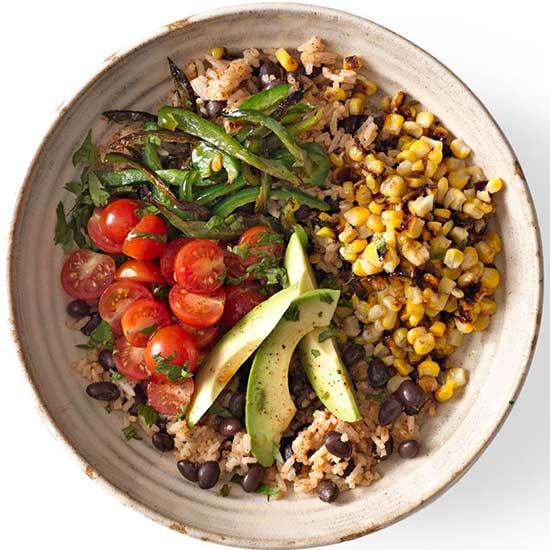 Southwestern Veggie Bowl