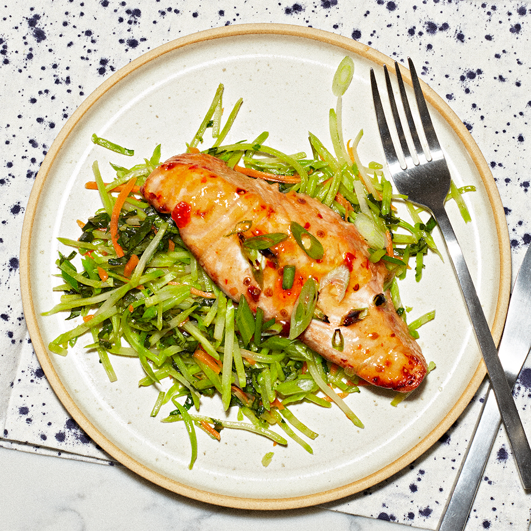 Thai-Glazed Salmon