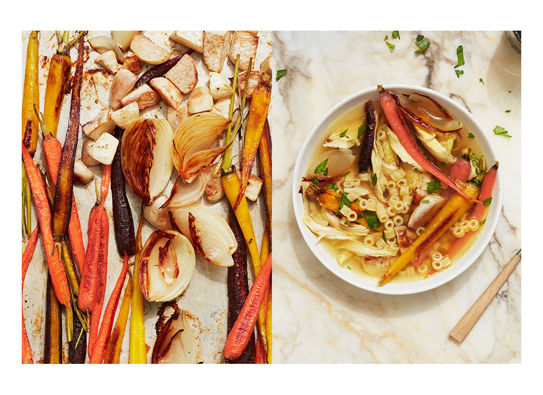 Roasted Winter Veggie Dinners