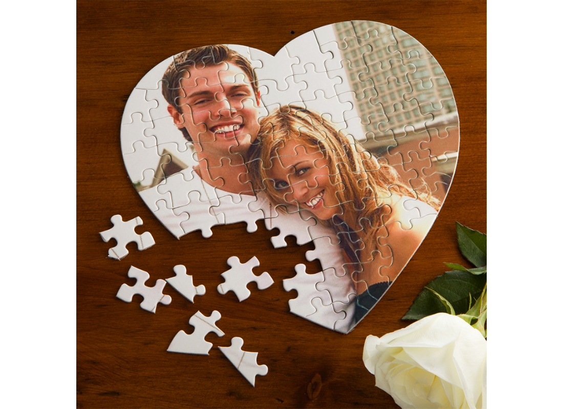 Love Connection Personalized Photo Puzzle
