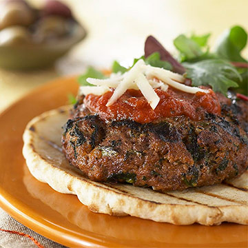 Mediterranean-Style Burgers