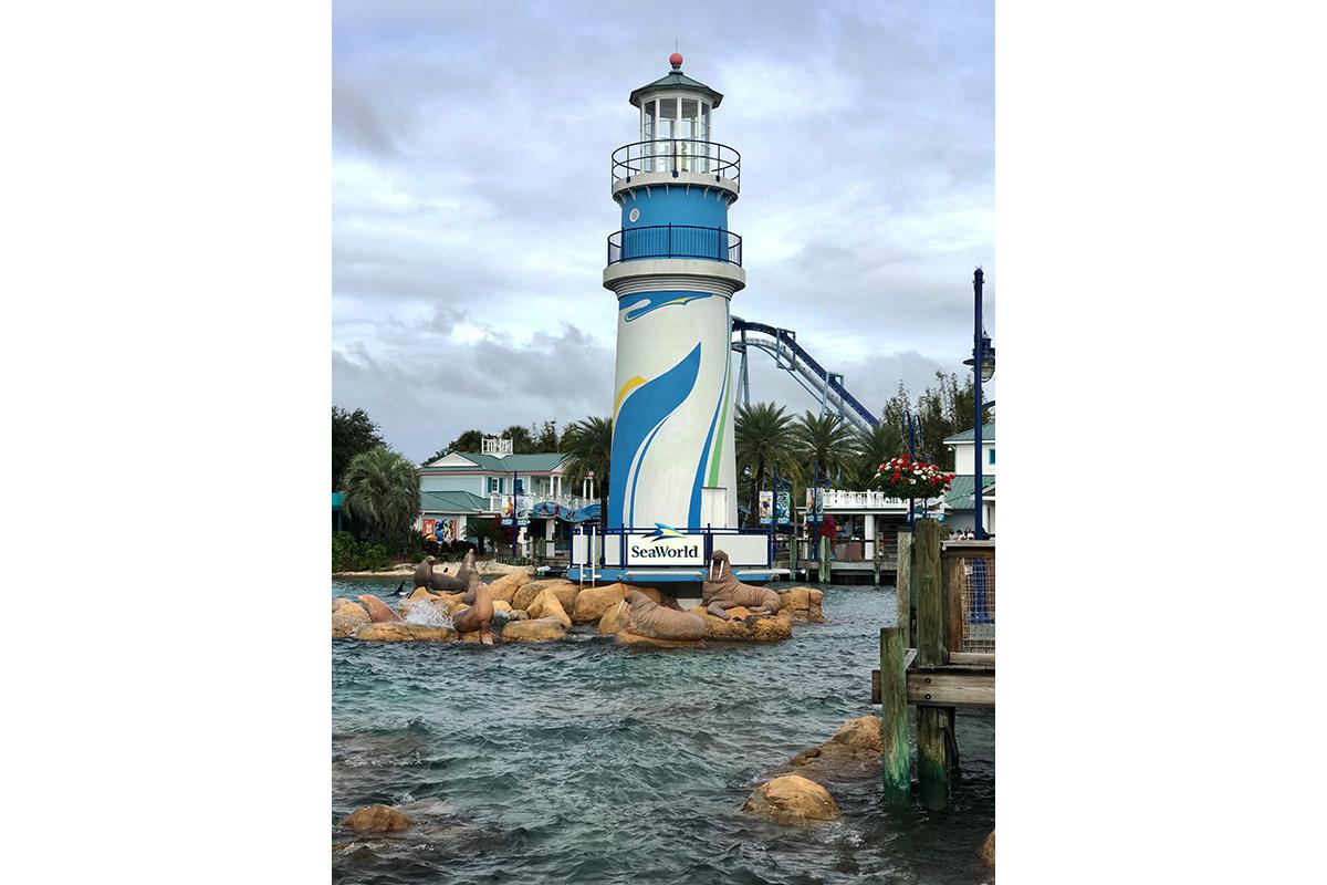 Sea World Orlando entrance