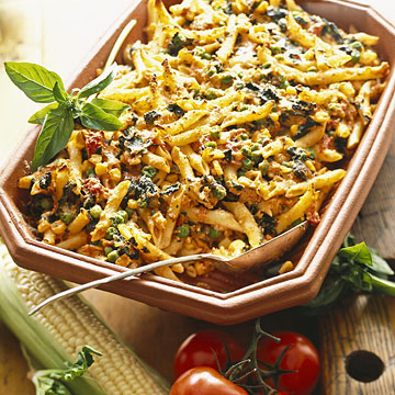 Quick & Easy Vegetarian Pasta Dishes