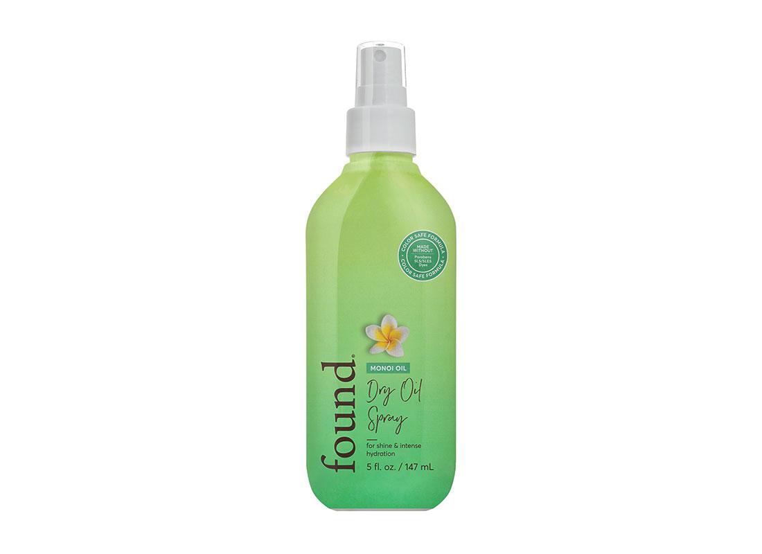 Found Haircare Monoi Oil Dry Oil Spray