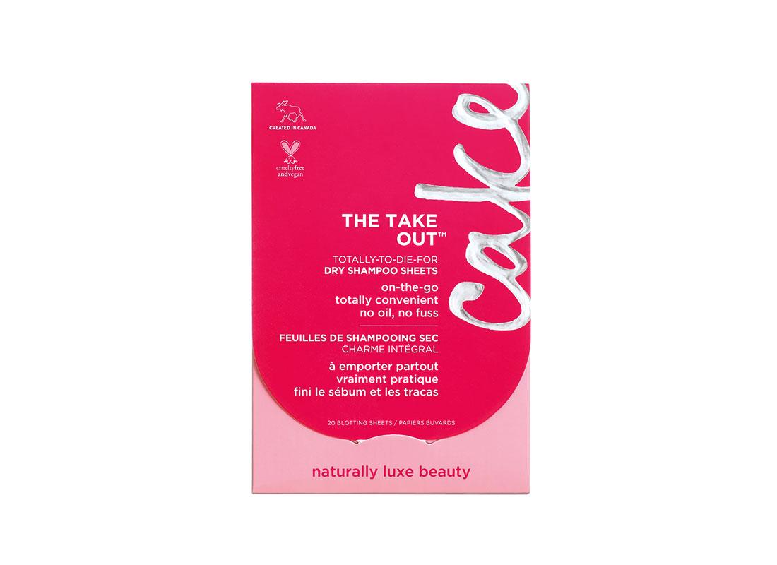 Cake The Take Out Dry Shampoo Sheets